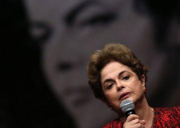 Melancolia e promessas de luta nos atos de Dilma antes do julgamento