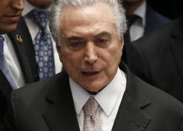 Michel Temer toma posse após o impeachment de Dilma