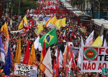 Ato contra Temer em São Paulo acaba sem violência no 7 de setembro