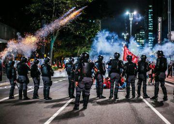 Fotógrafos relatam violência policial em protestos em São Paulo