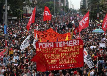 Promotoria acusa jovens detidos em protesto anti-Temer de organização criminosa