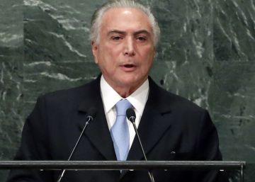 """Brasil deu um """"exemplo ao mundo"""" com a destituição de Dilma, diz Temer na ONU"""