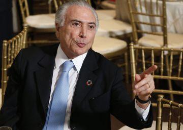 Temer pede a investidores em Nova York que voltem a confiar no Brasil