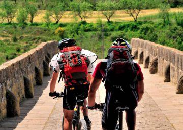 De bike pelo Caminho de Santiago