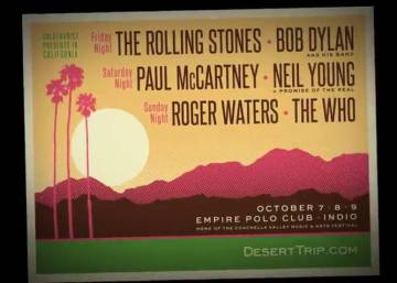 Stones, McCartney, Neil Young, Dylan, Waters e The Who, juntos no palco
