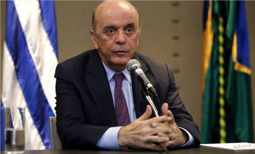 Resultado de imagem para José Serra deixa o Itamaraty e cita motivos de saúde