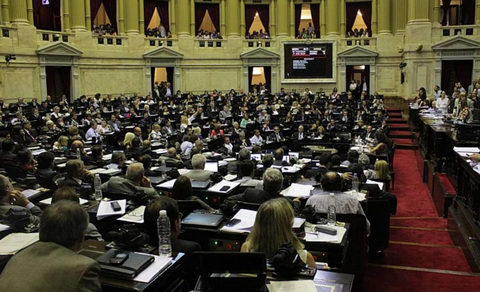 O Parlamento argentino.