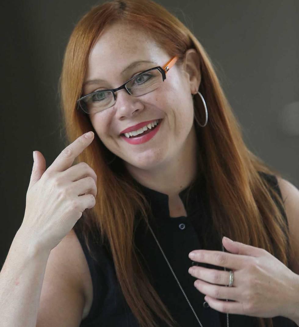 A pesquisadora canadense Dana Small.