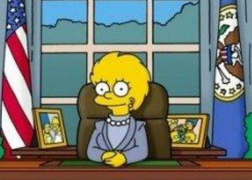 Episódio de 'Os Simpsons' previu a vitória de Trump há 16 anos