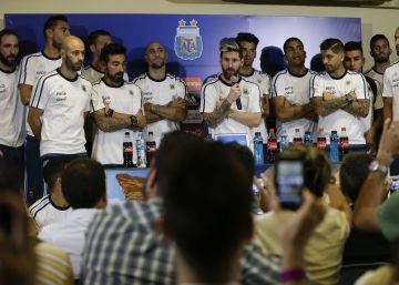 Messi lidera o veto da seleção argentina à imprensa