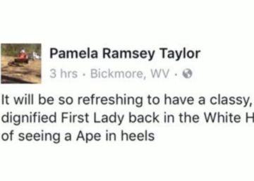 """""""Macaca de salto alto"""": o comentário sobre Michelle Obama que levou à renúncia de uma prefeita"""