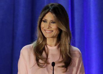 A estilista que se nega a vestir Melania Trump