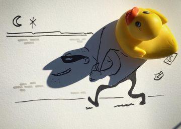 As ilustrações do Instagram feitas com sombras de objetos cotidianos