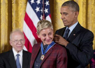 Obama condecora Ellen DeGeneres, Michael Jordan, De Niro e outras personalidades