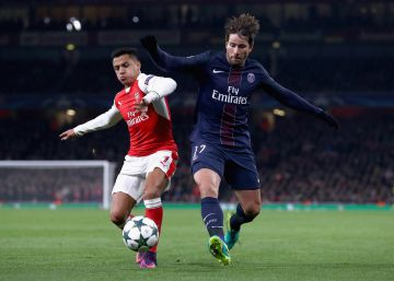PSG empata com o Arsenal por 2 a 2 e assume a liderança do grupo A