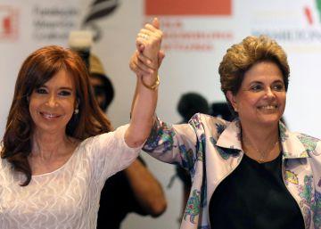 Dilma e Cristina Kirchner reivindicam legado social na América do Sul