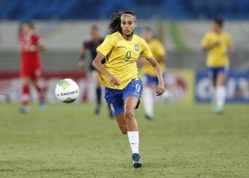 """Andressa Alves: """"O futebol feminino não tem o apoio que gostaríamos"""""""