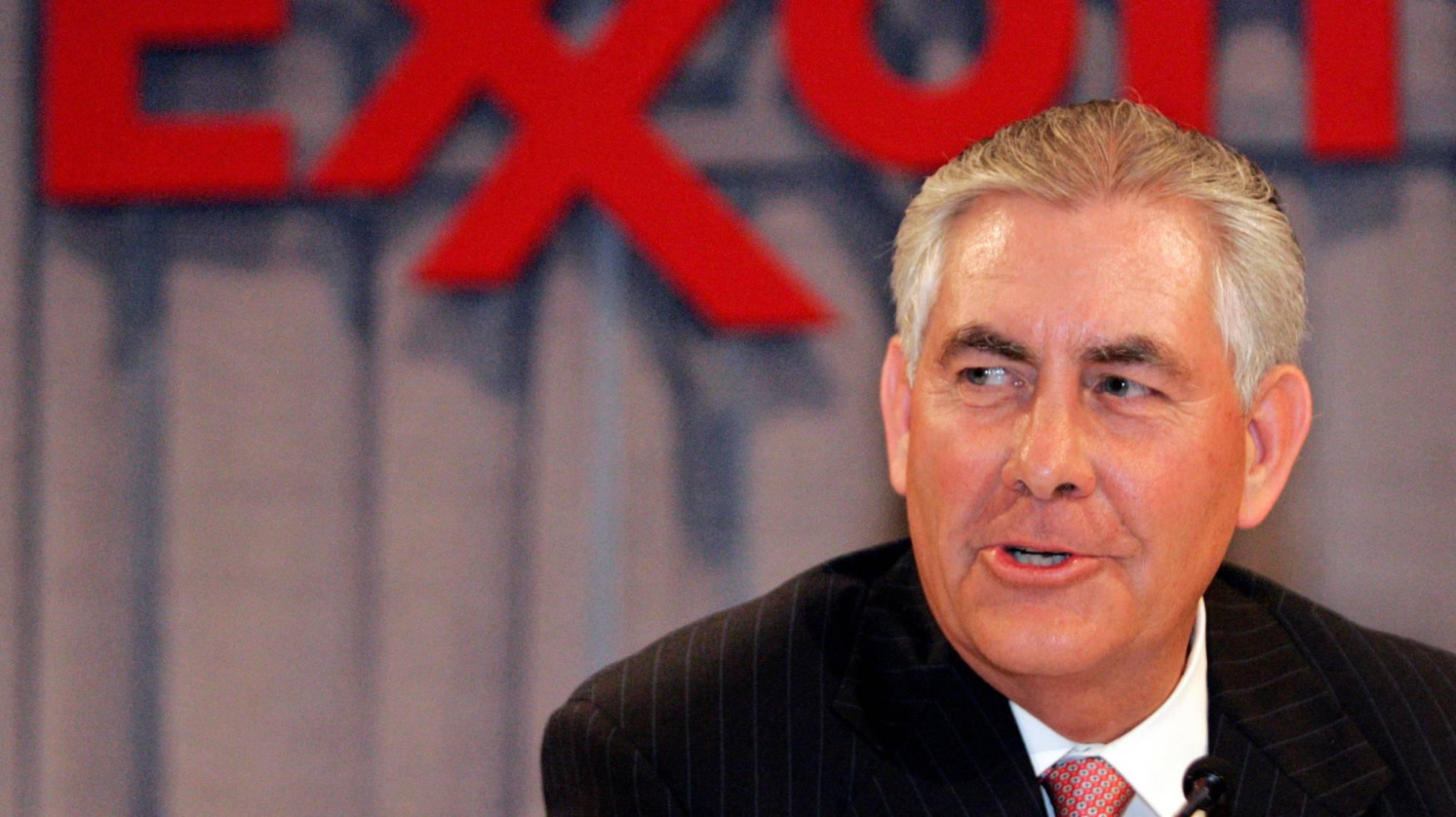 Trump escolhe CEO da ExxonMobil para o cargo de Secretário de Estado dos EUA