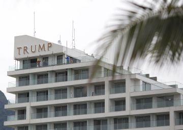 Trump deja su hotel en Río de Janeiro