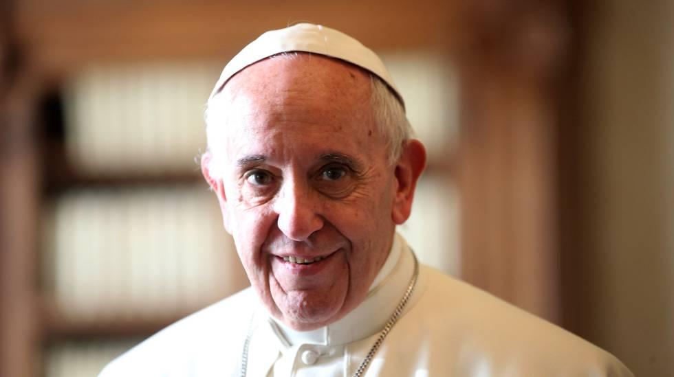 Papa Francisco durante audiência