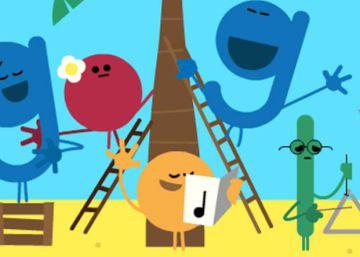 Google deseja boas festas com um 'doodle'