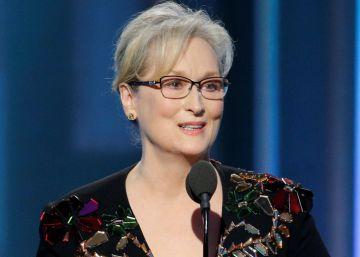 Meryl Streep comove no Globo de Ouro e ataca Trump