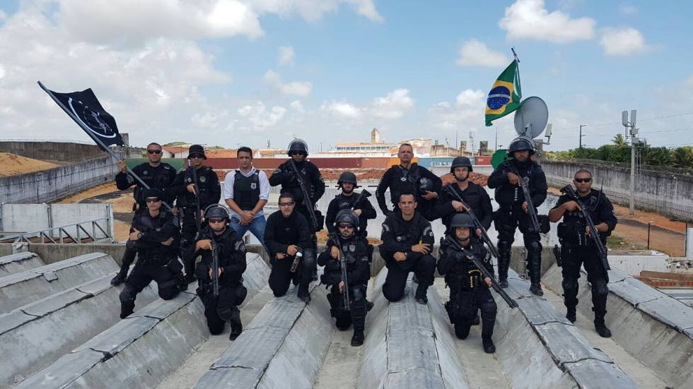Duas semanas após massacre, polícia diz ter tomado o controle em Alcaçuz