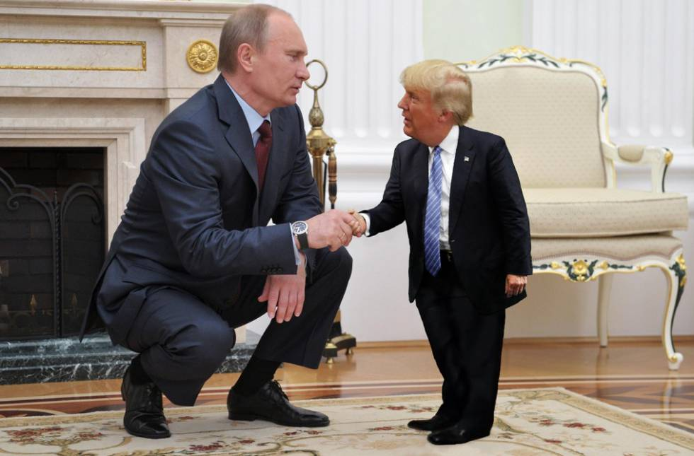 Tiny Trumps, o meme do 'mini' presidente dos EUA