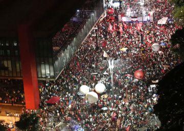 Ato contra a reforma da Previdência na av. Paulista.