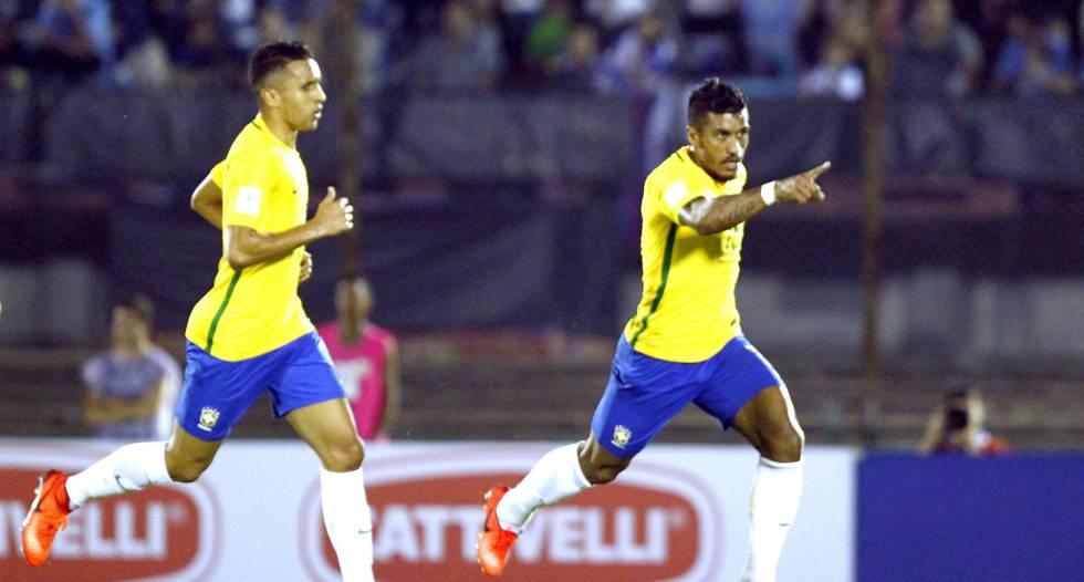 Resultado Uruguai x Brasil gols pelas eliminatórias da Copa