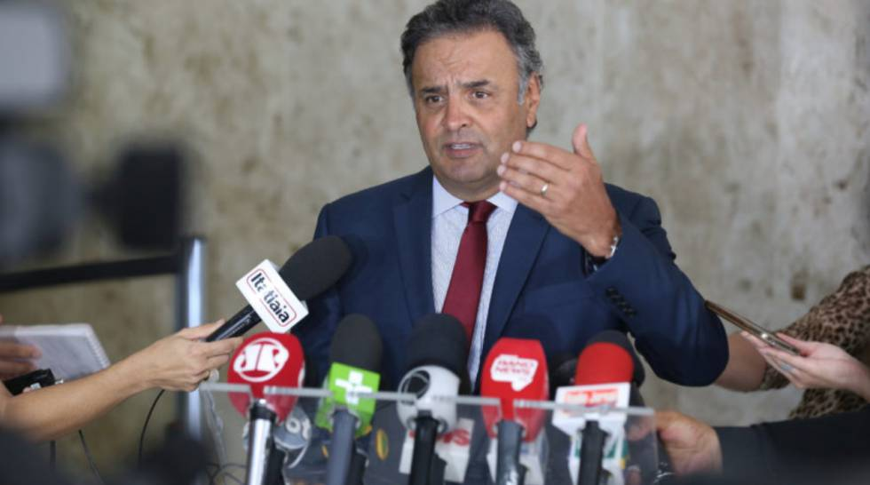 O senador Aécio Neves (PSDB-MG).