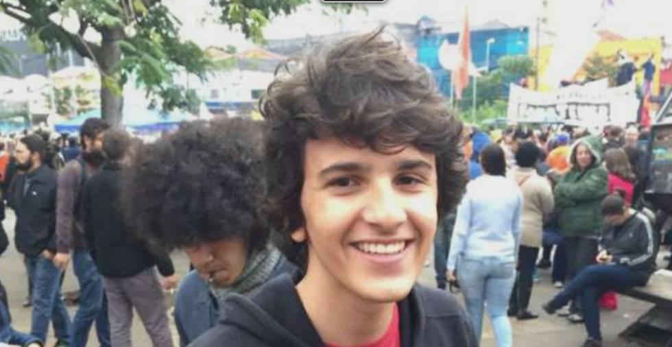 André Neto, 17, no Largo da Batata, em São Paulo, para quem