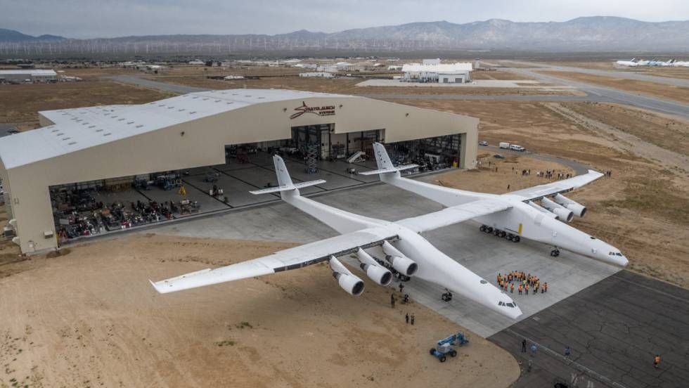 o avião mais grande do mundo