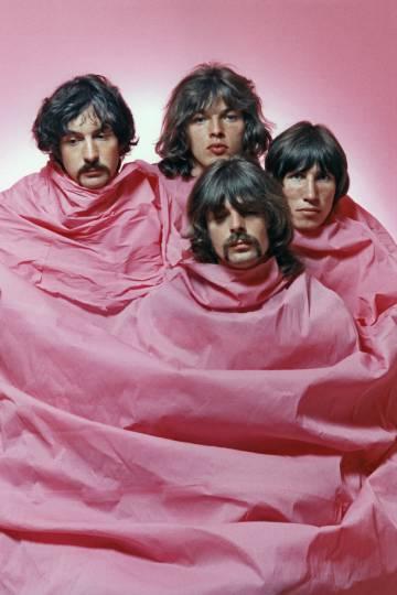 O Pink Floyd em 1968