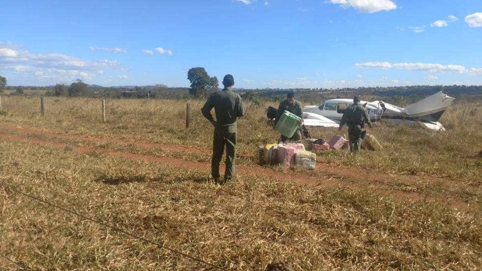 Resultado de imagem para Avião com cocaína decolou de fazenda da família Maggi
