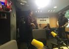 Girauta marxa d'una entrevista a Catalunya Ràdio