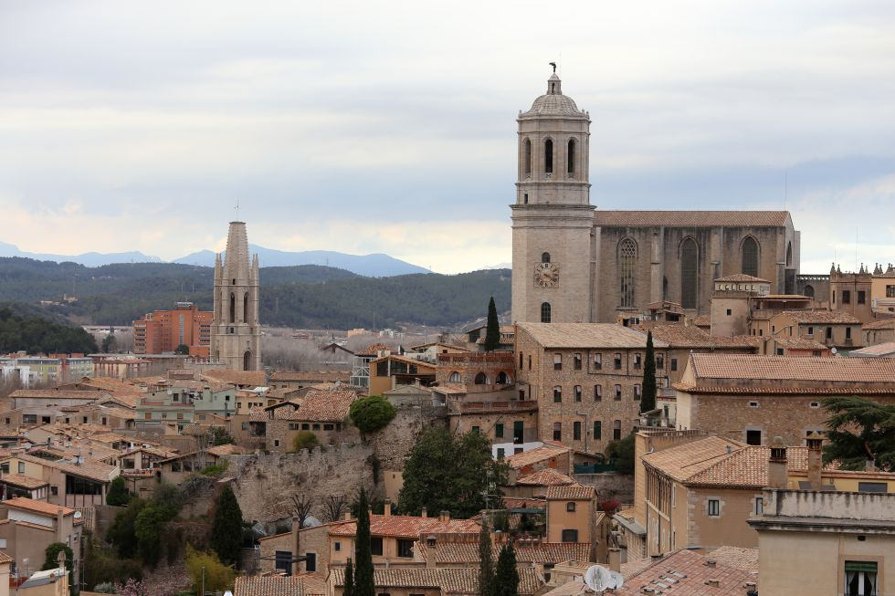 La catedral de Girona.