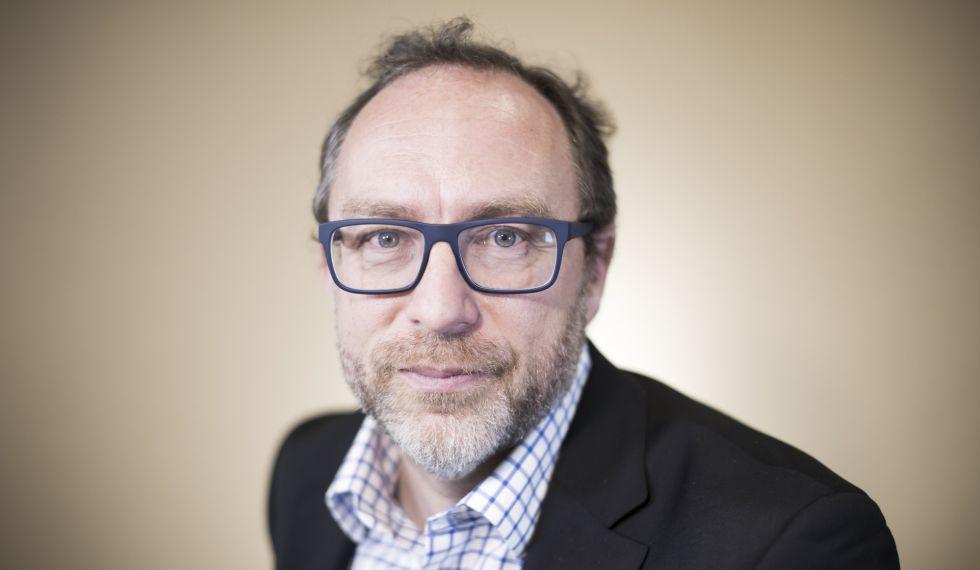 Jimmy Wales, creador de Wikipedia.
