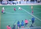 Brutal agresión en un campo de fútbol de regional