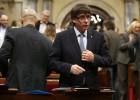 Puigdemont quita importancia a la situación de la deuda