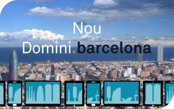 Imatge promocional del .barcelona.