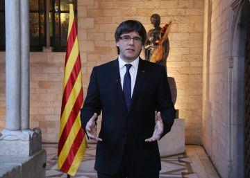 """Puigdemont llama a """"hacerse respetar ante los dragones feroces"""""""