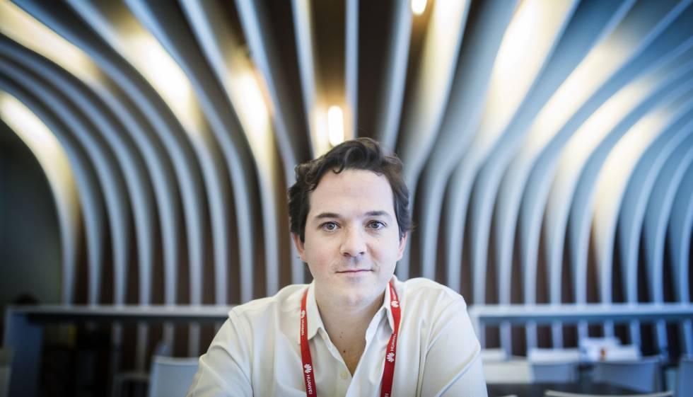 El responsable de desarrollo de negocio de Waze en Europa, Carlos Gómez.