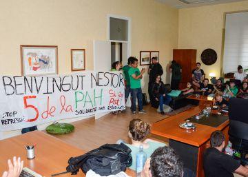 Los estudiantes desalojan el rectorado de la Universidad de Lleida
