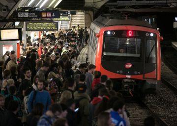 El Metro de Barcelona funciona esta semana al 40% en horas punta