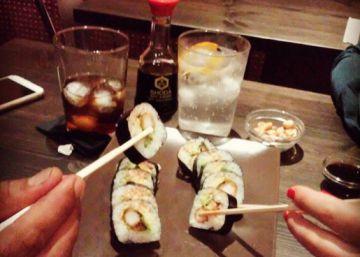 De tapes, sushi