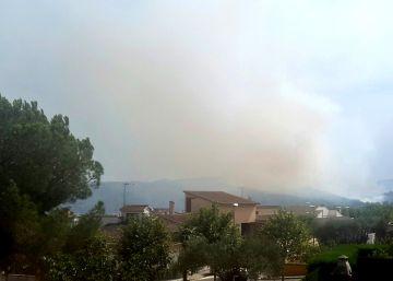 Controlado el incendio de Cruïlles tras quemar 53 hectáreas
