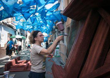 Fraternitat de Baix 'pesca' el primer premio de las fiestas de Gràcia