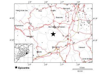 Un terremoto de magnitud 3,6 sacude La Selva
