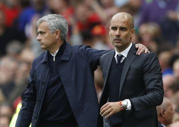 El City de Guardiola derrota el United de Mourinho en el derbi
